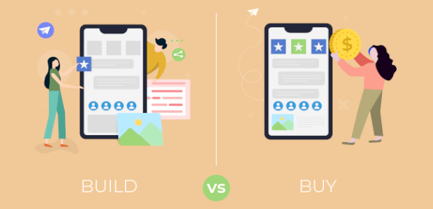 Build vs Buy: Get In-App Communication with Highest ROI using Channelize.io Chat API and SDKs