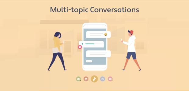 Introducing Multi-topic Conversations