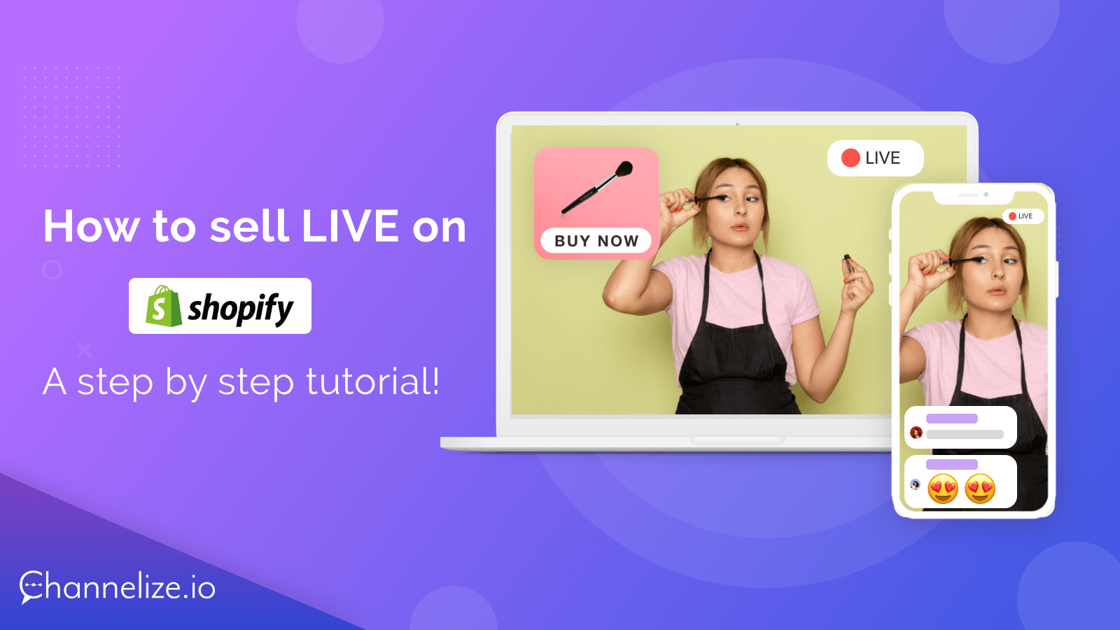 How to sell live on Shopify - A step by step tutorial!
