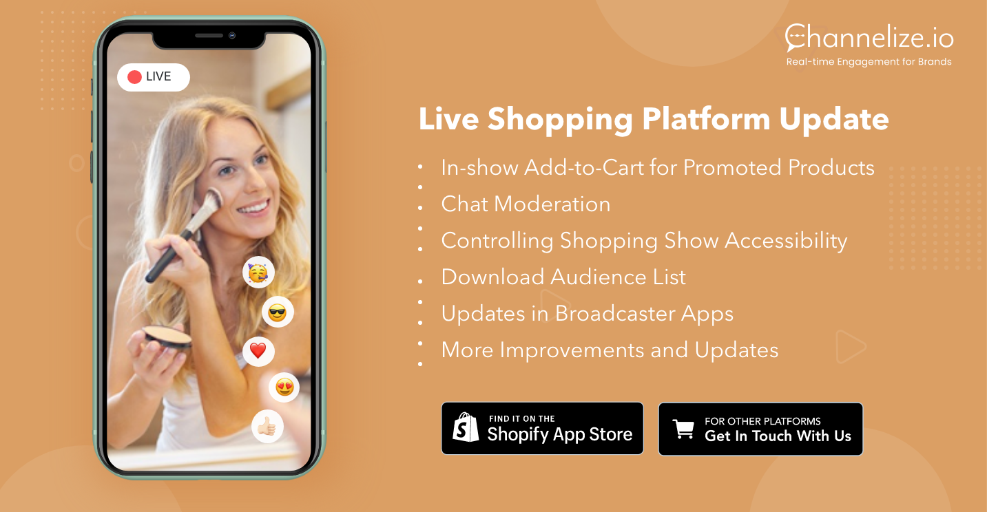 Live Stream Shopping Updates: May 2021