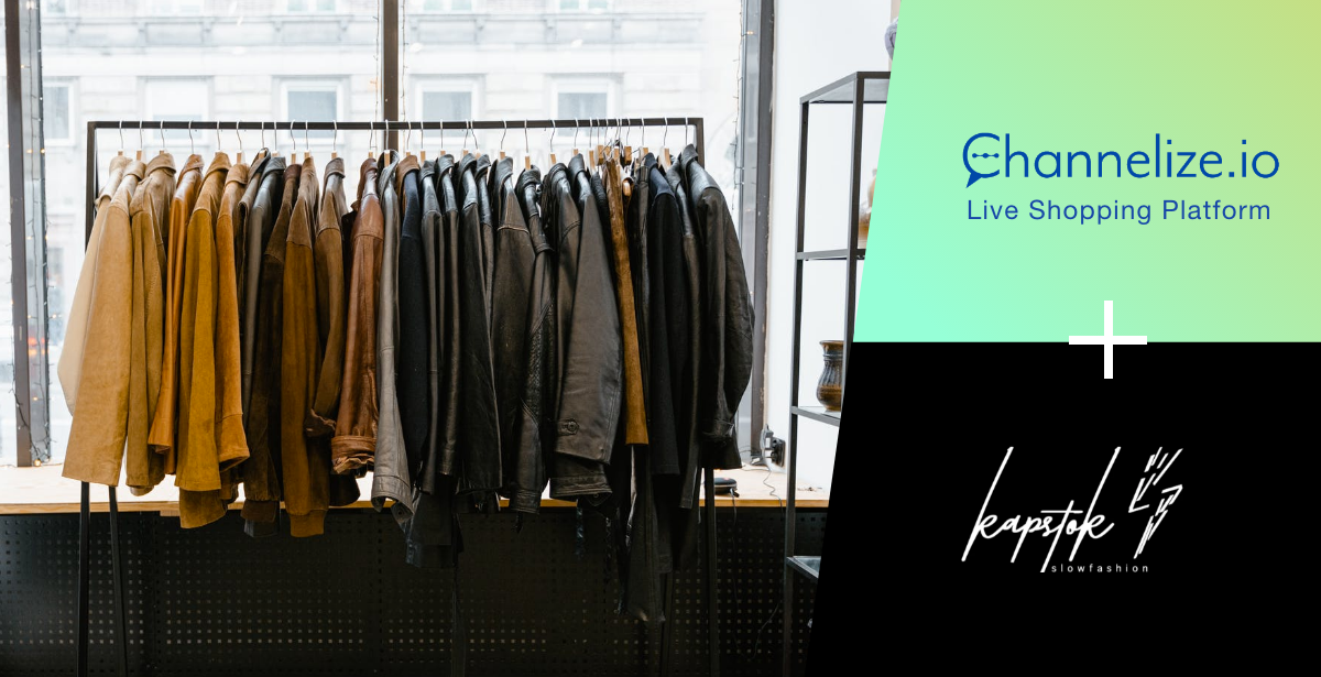 Kapstok turns to Live Shopping to Connect with Potential Customers in a New Way