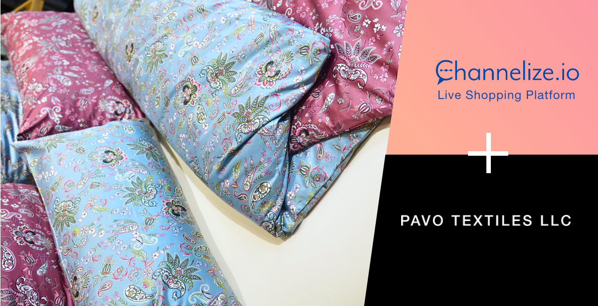 Pavo Textiles liveshopping success story