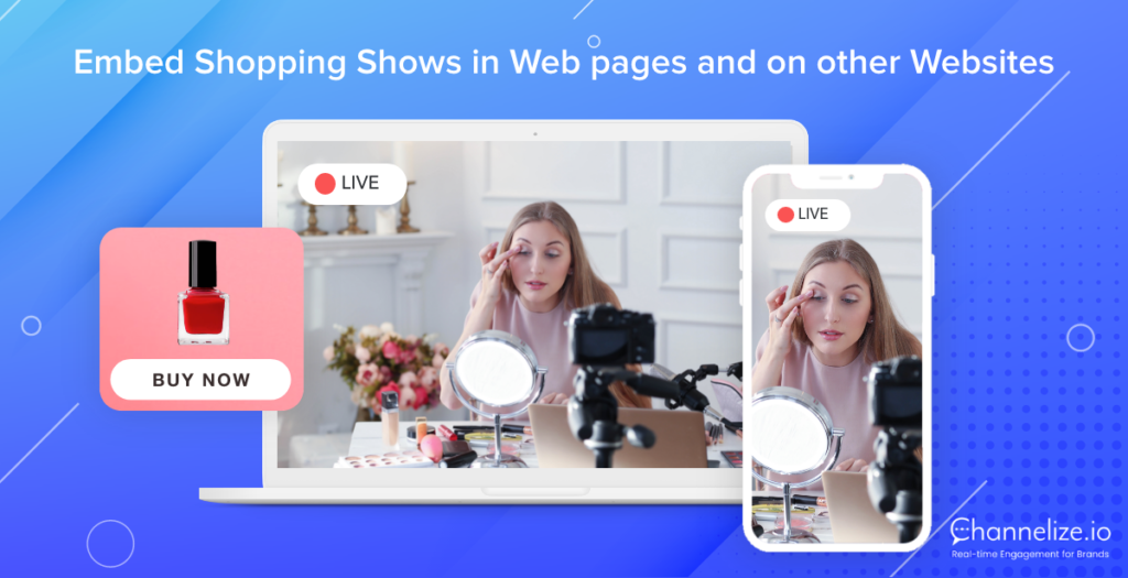 New Feature Alert: Boost impact of Live Shopping Shows with Embed Code